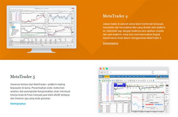 Platform Trading Tersedia