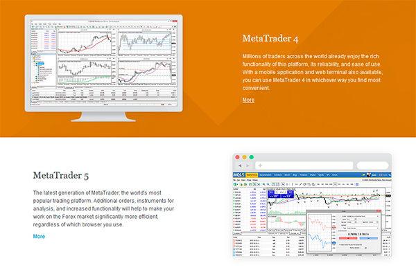 Alpari trading platforms available