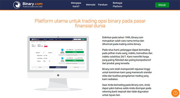 Binary option itu apa