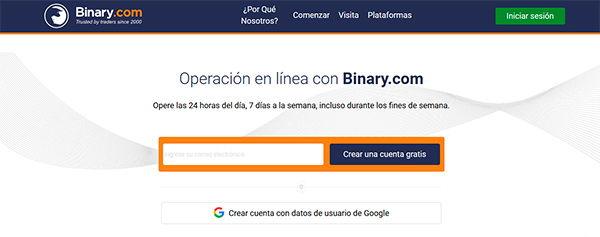 Cuenta de demostración de comercio de opciones binarias uk