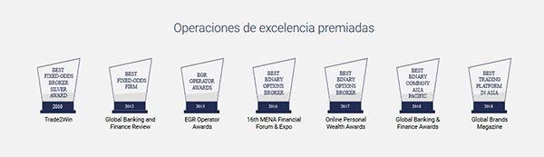 Binary.com Excelencia Comercial Premiada