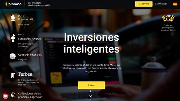 Plataformas de opciones binarias en español