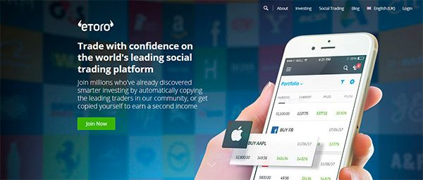 Platform Mobile eToro