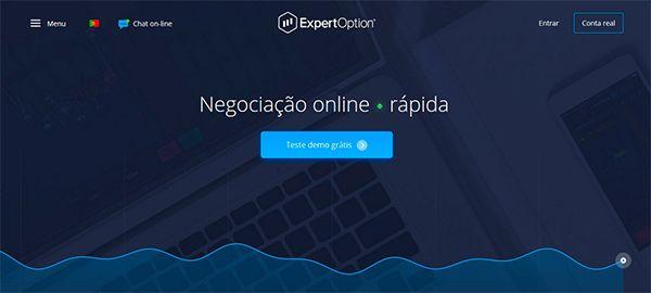 ExpertOption Teste Demo Grátis