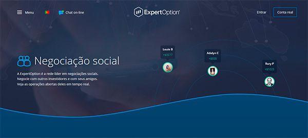 ExpertOption - Rede de Negociações Sociais