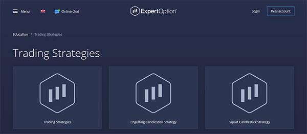 Expertoption education