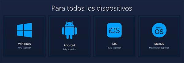 ExpertOption plataforma móvil iOS y Android