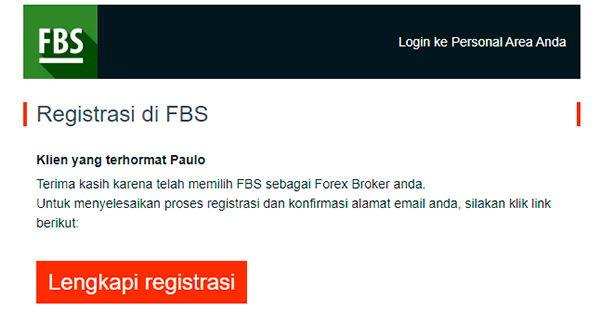 Confirmar o seu email