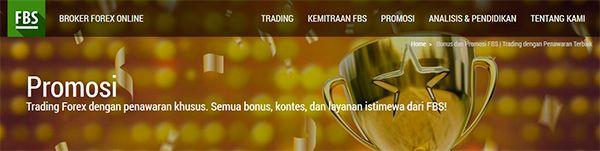 Promo dan Bonus FBS