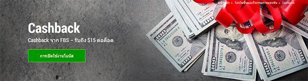 FBS Forex เงินคืน