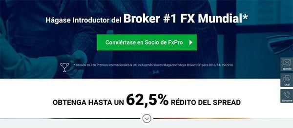 Calificación general de FxPro