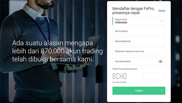 Bagaimana cara Membuka sebuah Akun dan Memulai Trading pada FxPro