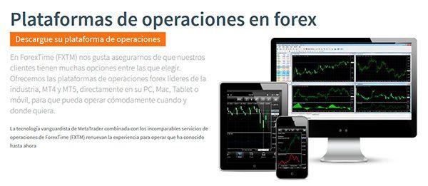 FXTM (Forextime) Plataformas de operaciones