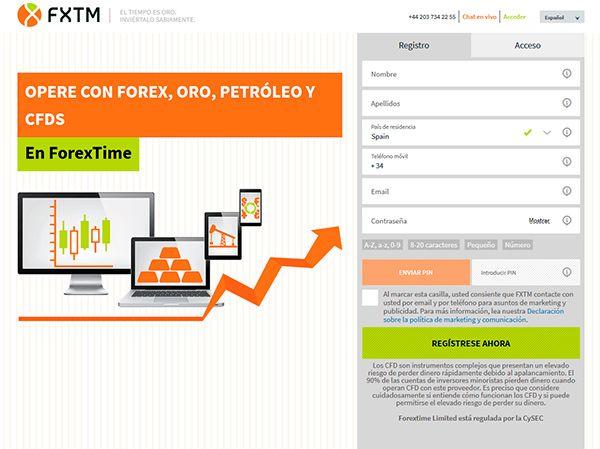 Cómo abrir una cuenta FXTM