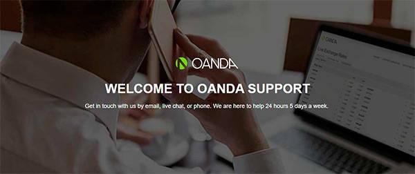 Oanda support