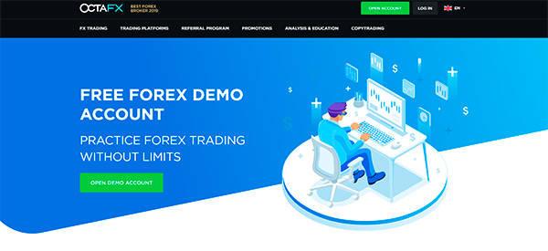 Open a Demo Account at OctaFX