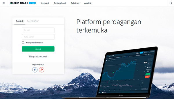 Broker Binary Options Teratas di Indonesia