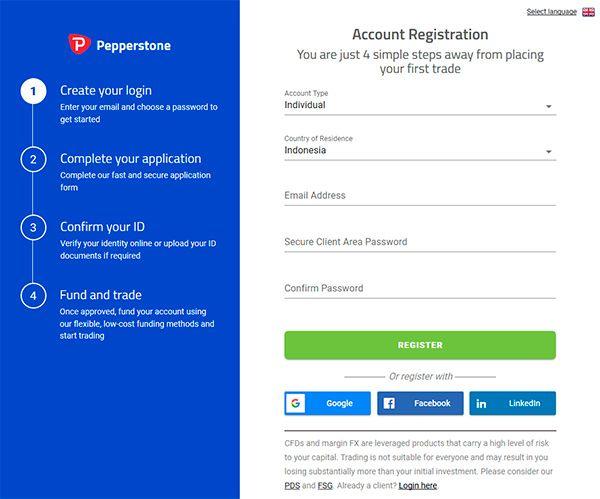 Mendaftar dan Mulai Trading