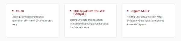 Tickmill Instrumen Trading