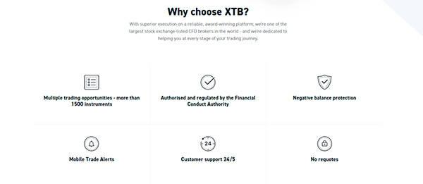 Why choose XTB?