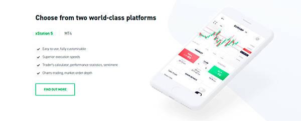 XTB Trading Platforms